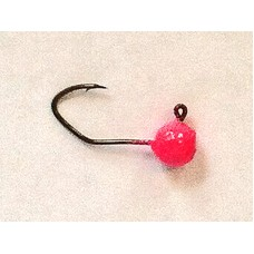 Jig Hook - 1/16 #6 Pink UV