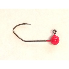 Jig Hook - 1/24 #2 Red UV